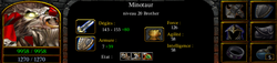 Minotaur brother lv20