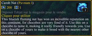 Carob nut