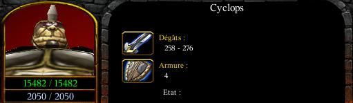 Cyclops lady summon