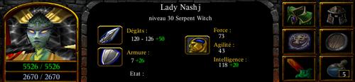 Lady Nashj stats