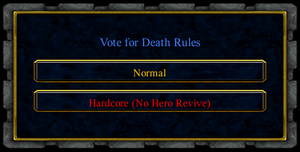 Vote for death rules