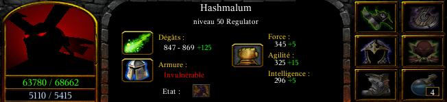 Hashmalum the regulator