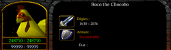 Boco the chocobo (Bobby Corwen)