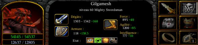 Gilgamesh master mighty swordman