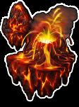 World-Roaring Volcano