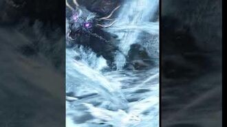 FFBE - 黒龍 Black Dragon 1★ Animation - Esper