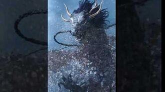FFBE - 黒龍 Black Dragon 2★ Animation - Esper