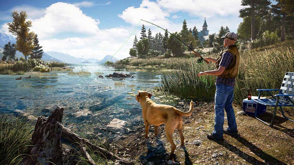 Far Cry 5 fishing hole