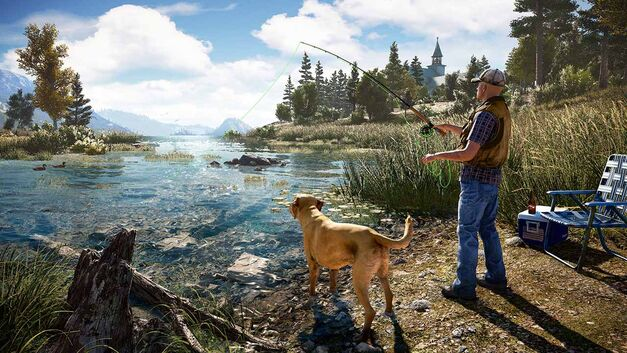 Far Cry 5 fishing hole