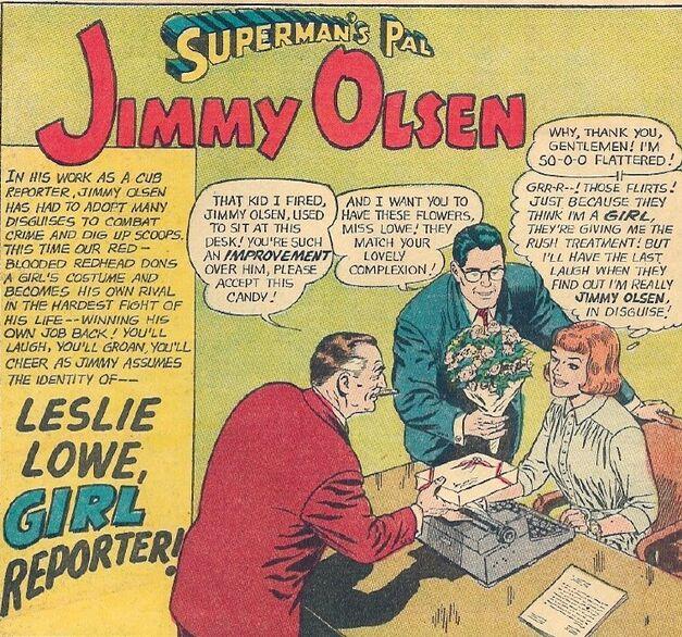 Jimmy Olsen #67 - Leslie Lowe 01