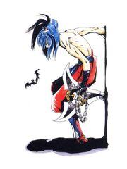 Nemesis with Giant Shuriken