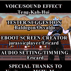 Credits(End Game)