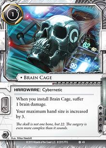 Brain-cage