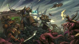 Thousand Sons vs daemons (Great Crusade)