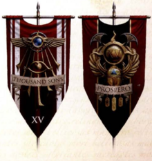Thousand Sons Banners
