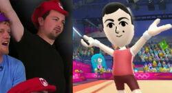 Deacon Rhythmic Ribbon Mario and Sonic