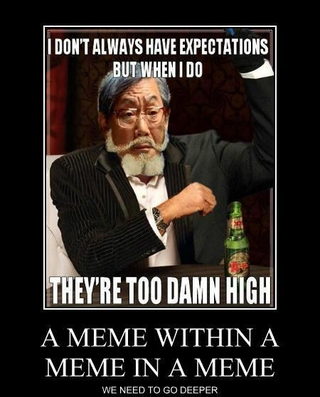 image demotivational posters a meme within a meme in a meme jpg