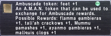 Ambuscade Token Feet +1