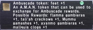 Ambuscade Token Feet +1