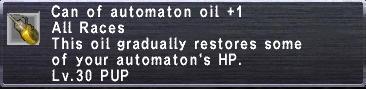 Automaton Oil Plus 1