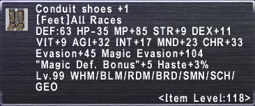Conduit Shoes +1