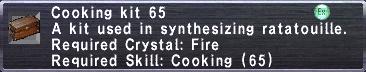 Cooking Kit 65