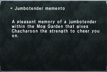 Jumbotender memento