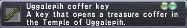 Uggalepih Coffer Key