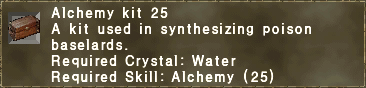 Alchemy kit 25