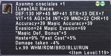 Aynamo Cosciales +1