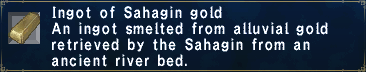 Sahagin Gold
