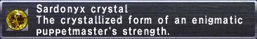 Sardonyx Crystal