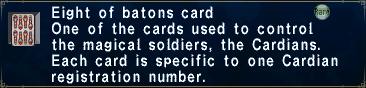 Card eightofbatons