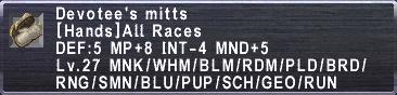 Devotee's Mitts