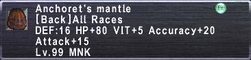Anchoret's Mantle