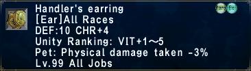 Handler's Earring