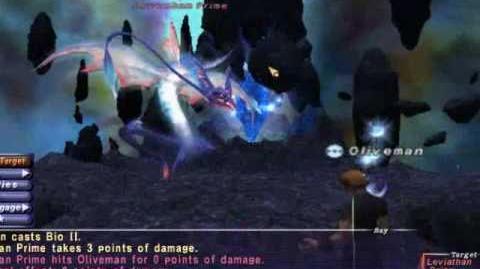 Oliveman - Leviathan - Naked Avatar Solo - FFXI