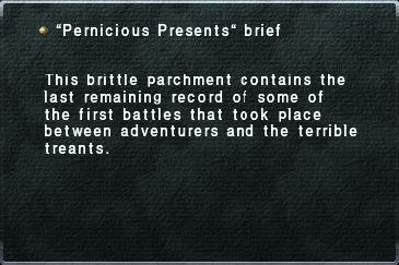 Pernicious Presents Brief