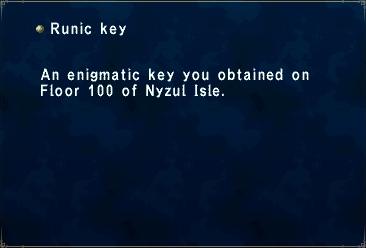 Runic Key