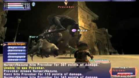 FFXI NM Saga 297 Provoker vs BST Full Battle