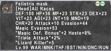 Felistris Mask