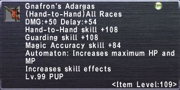 Gnafron's Adargars
