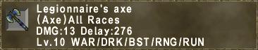 Legionnaire's axe