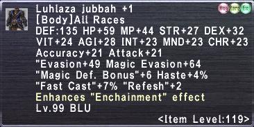 Luhlaza Jubbah Plus 1
