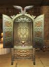 Winged altar