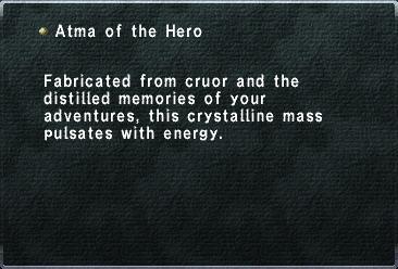 Atma of the Hero