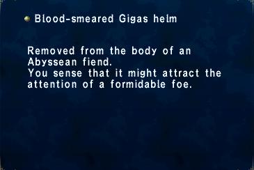 Blood-Smeared Gigas Helm