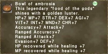 Bowl of ambrosia