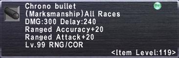 Chrono Bullet