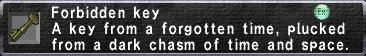 Forbidden Key